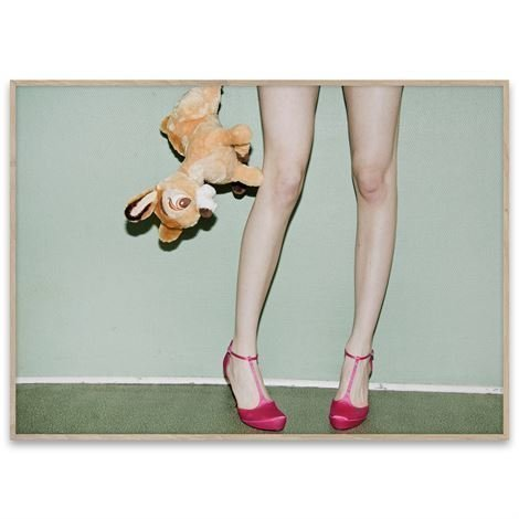 Paper Collective Bambi And Heels Juliste 70x50 cm
