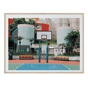 Paper Collective Cities Of Basketball 04 Hong Kong Juliste