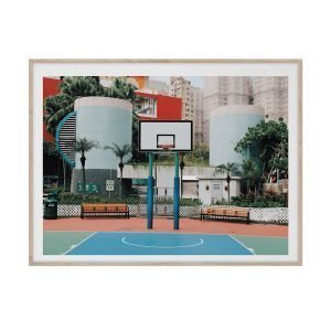 Paper Collective Cities Of Basketball 04 Hong Kong Juliste 30x40 Cm