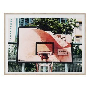 Paper Collective Cities Of Basketball 06 Hong Kong Juliste