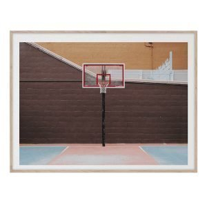 Paper Collective Cities Of Basketball 07 New York Juliste