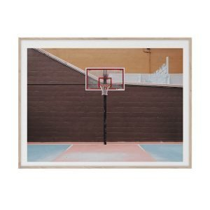 Paper Collective Cities Of Basketball 07 New York Juliste 30x40 Cm