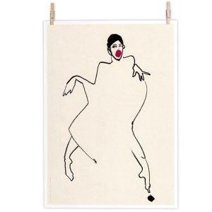 Paper Collective Dancer 02 Juliste 50x70 Cm