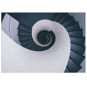 Paper Collective Kua Stairways Juliste 50x70 Cm