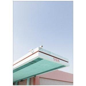 Paper Collective Los Angeles Is Pink 01 Juliste 50x70 Cm