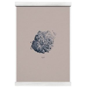 Paper Collective Nature 1:1 Hailstone Everest Grey Juliste