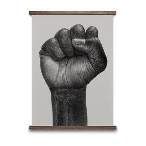 Paper Collective Raised Fist Juliste