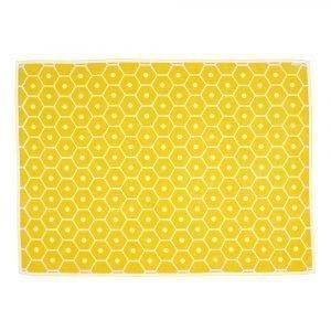 Pappelina Honey Huopa Lemon / Vanilla 140x180 Cm