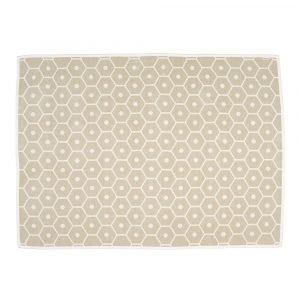 Pappelina Honey Huopa Sand / Vanilla 140x180 Cm