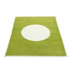 Pappelina Vera Huopa Olive / Vanilla 140x180 Cm