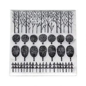 Pentik Metsikkö Servetti 33 X 33 cm