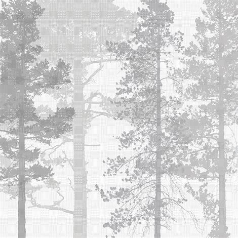 Photowall Weaving Wood Valokuvatapetti Harmaa