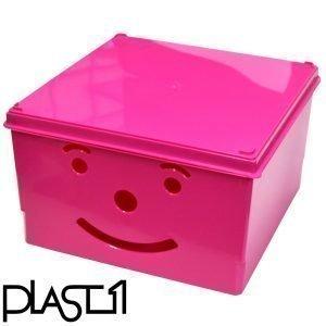 Plast1 Smiley Säilytyslaatikko