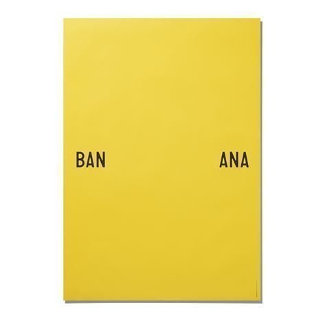 Playtype Banana Juliste 70x100 cm