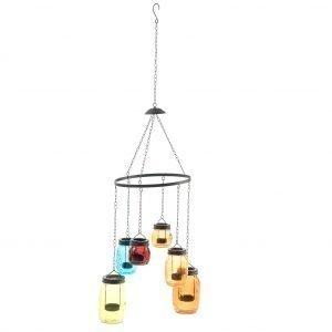 Polar Lanterns Jar Color Kynttelikkö 6 Kynttilälle
