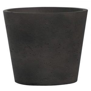 Pottery Pots Mini Ruukku L Musta