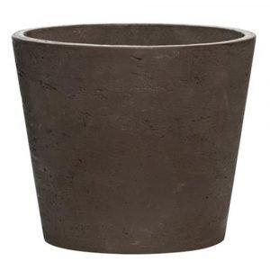 Pottery Pots Mini Ruukku L Ruskea