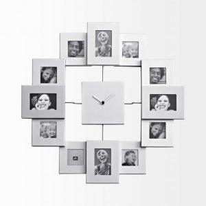 Present Time Photo Frame Seinäkello