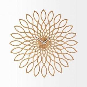 Present Time Sunflower Seinäkello