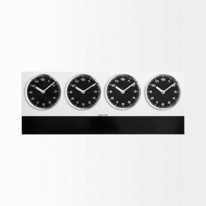 Present Time Time Zone Seinäkello