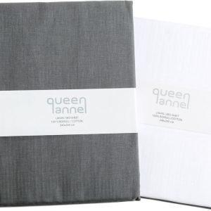 Queen Anne Muotoonommeltu Lakana 120x200 Cm
