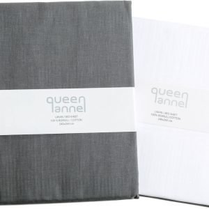 Queen Anne Muotoonommeltu Lakana 90x200 Cm
