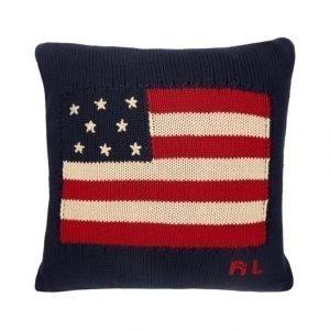 Ralph Lauren Home Flag Knit Koristetyyny 50 X 50 cm