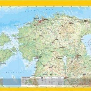 Regio Seinäkartta Regio Viro Ripustuslistoilla