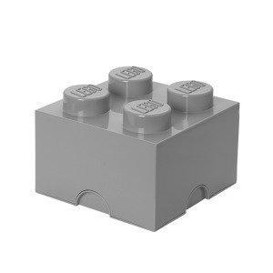 Room Copenhagen Lego Säilytyslaatikko 4 Harmaa