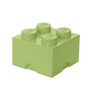 Room Copenhagen Lego Säilytyslaatikko 4 Keltavihreä