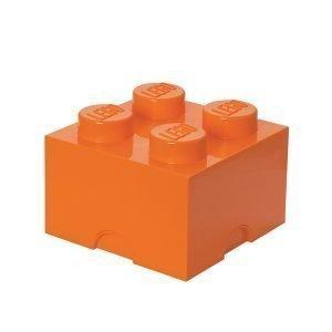 Room Copenhagen Lego Säilytyslaatikko 4 Oranssi