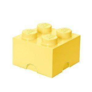 Room Copenhagen Lego Säilytyslaatikko 4 Pastellinkeltainen