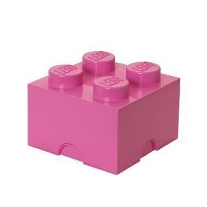 Room Copenhagen Lego Säilytyslaatikko 4 Pinkki