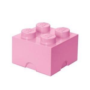 Room Copenhagen Lego Säilytyslaatikko 4 Vaaleanpunainen