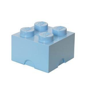 Room Copenhagen Lego Säilytyslaatikko 4 Vaaleansininen