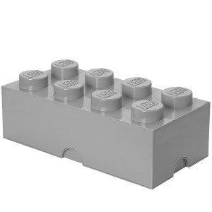 Room Copenhagen Lego Säilytyslaatikko 8 Harmaa