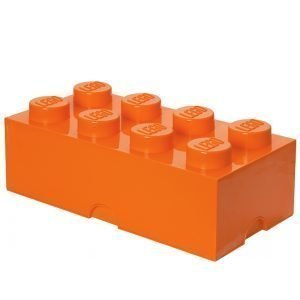 Room Copenhagen Lego Säilytyslaatikko 8 Oranssi