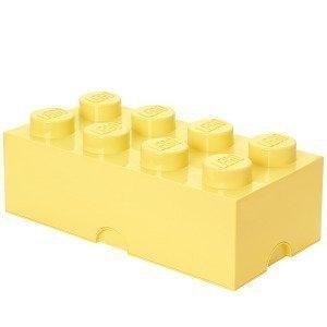 Room Copenhagen Lego Säilytyslaatikko 8 Pastellinkeltainen