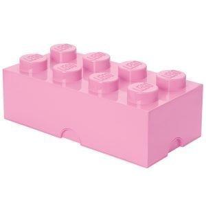Room Copenhagen Lego Säilytyslaatikko 8 Vaaleanpunainen