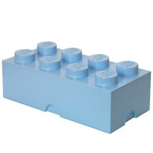 Room Copenhagen Lego Säilytyslaatikko 8 Vaaleansininen