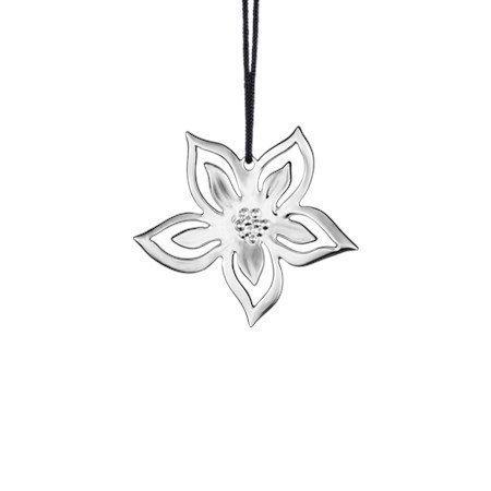 Rosendahl Joulukukka 6 cm hopeoitu