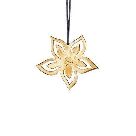 Rosendahl Jouluruusu 6 cm kullattu