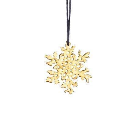 Rosendahl Lumihiutaleita 6 cm kullattu