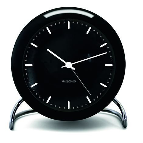 Rosendahl Timepieces Aj City Hall Pöytäkello Musta