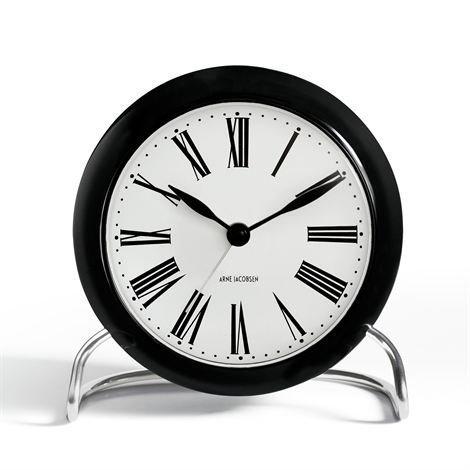 Rosendahl Timepieces Aj Roman Pöytäkello Musta