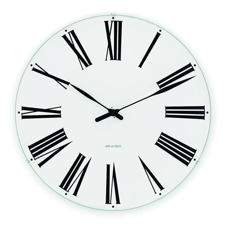 Rosendahl Timepieces Arne Jacobsen Roman Seinäkello Ø 48 cm