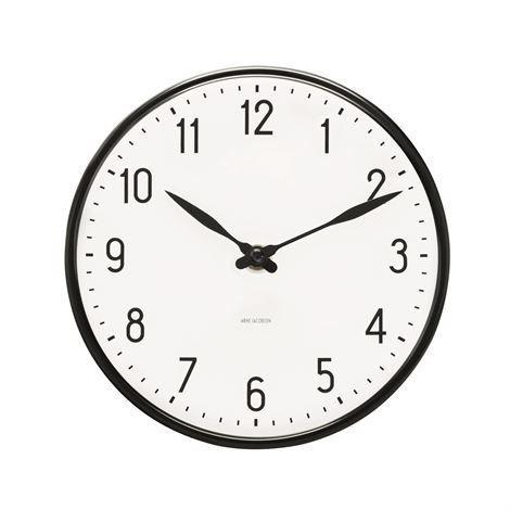 Rosendahl Timepieces Arne Jacobsen Station Seinäkello 16 cm