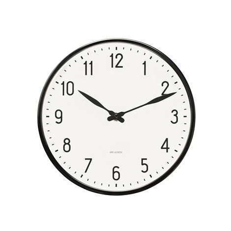 Rosendahl Timepieces Arne Jacobsen Station Seinäkello 21 cm