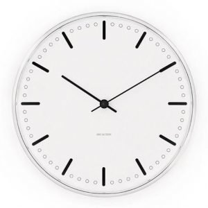 Rosendahl Timepieces Arne Jacobsenin City Hall Kello Ø 160 mm