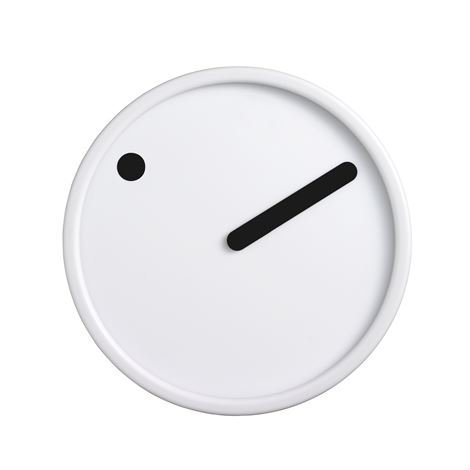 Rosendahl Timepieces Picto Seinäkello Valkoinen